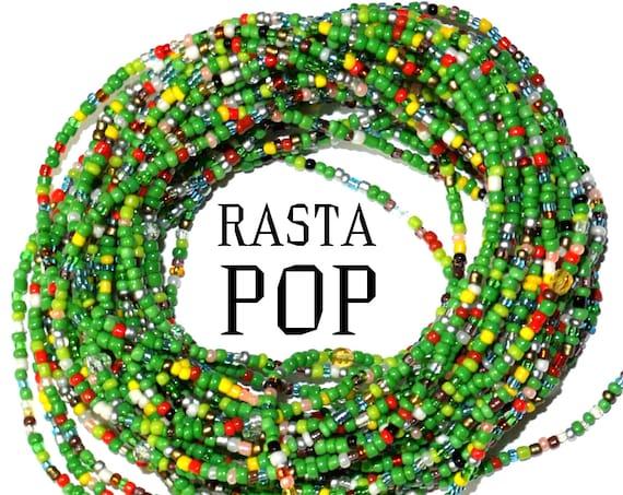 Waist Beads & More ~Rasta Pop ~ LAST ONE
