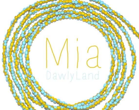 Mia ~ Made to Order Striped Waist Beads