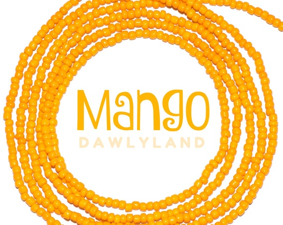 Mango ~ Custom Fit Waist Beads & Mega Wraps