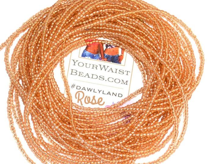 Rose Gold ~ Custom Waist Beads & More