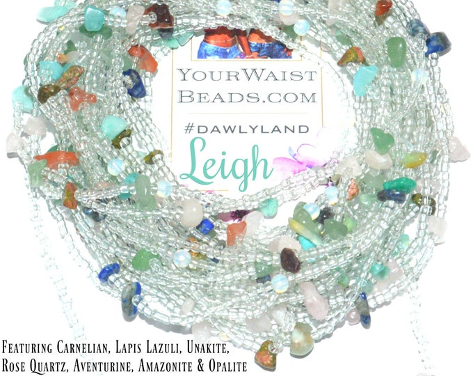 Leigh ~ Mixed Gemstone Waist Beads & More