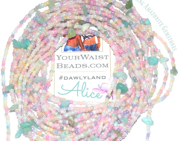 Alice ~ Gemstone Waist Beads & More ~ with Amazonite