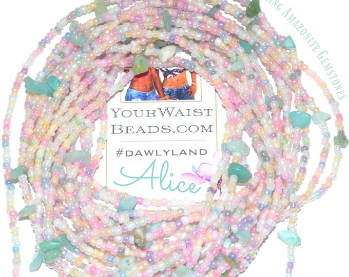 Alice ~ Gemstone Waist Beads & More ~ with Amazonite