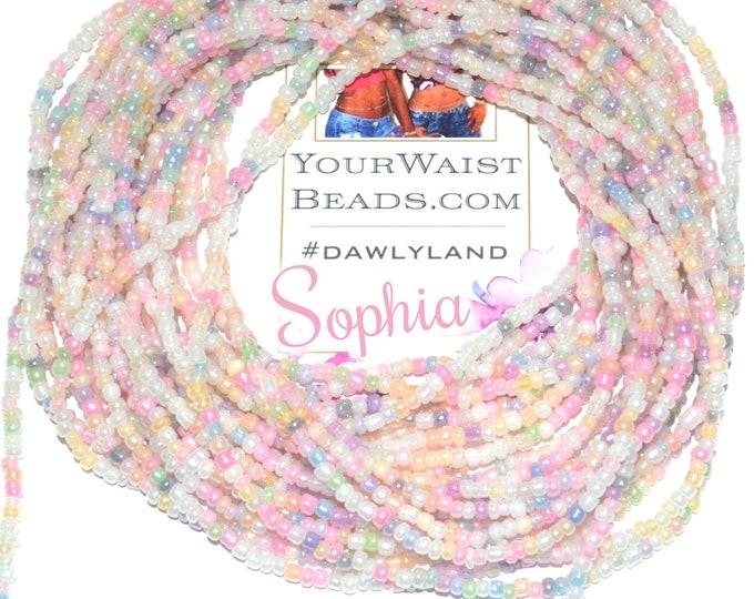 Sophia ~ Pastel Waist Beads & More