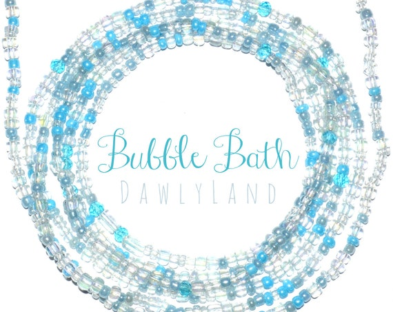 Bubble Bath ~ Custom Fit Waist Beads & Mega Wraps