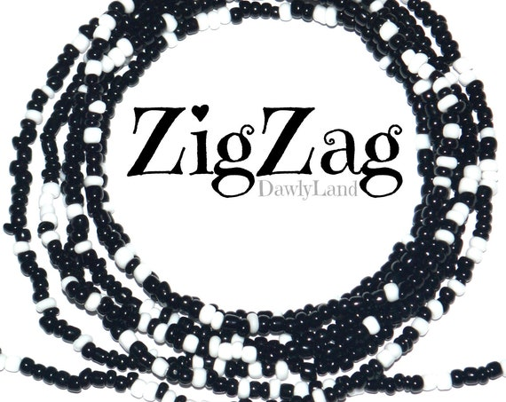 ZigZag ~ Custom Fit Waist Beads & Mega Wraps
