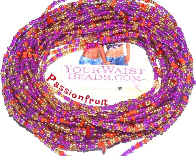 Passionfruit ~ Gemstone Waist Beads & More LAST ONE