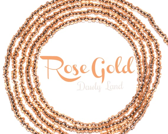Rose Gold ~ Custom Fit Waist Beads