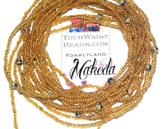 Makeda ~ Gemstone Waist Beads & More ~ with Dalmatian Jasper