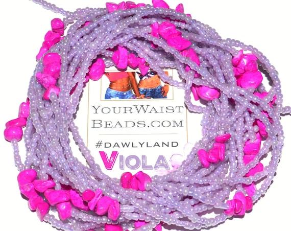 Waist Beads & More ~VIOLA~ Bracelet Anklet or #Beadkini LOW STOCK