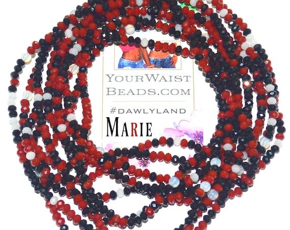 Crystal & Gemstone WaistBeads ~ Marie with Opalite ~Bracelet Anklet or #Beadkini