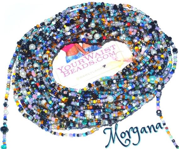 Waist Beads & More ~ Morgana ~ YourWaistBeads.com