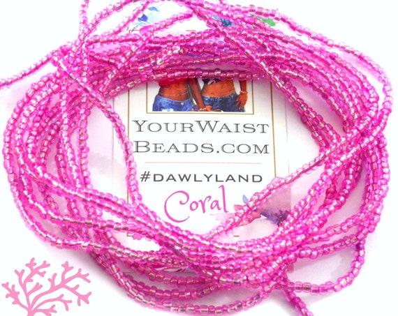 Coral ~ Pink Custom Waist Beads & More