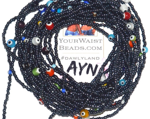 Ayn ~ Custom Fit Protection  Waist Beads