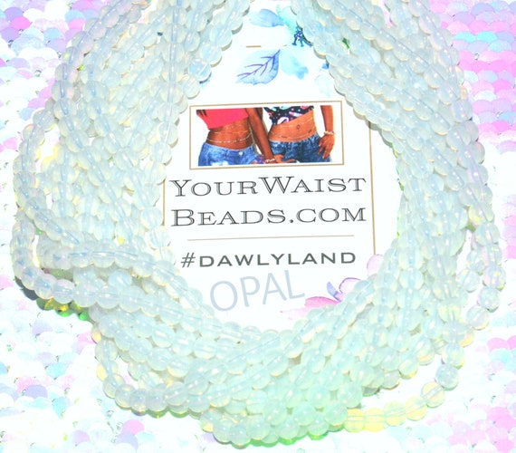 WaistBeads &More~ Opal ~ Bracelet Anklet or #Beadkini featuring Opalite