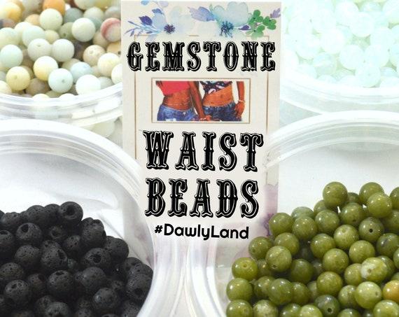 Healing Gemstone Waist Beads