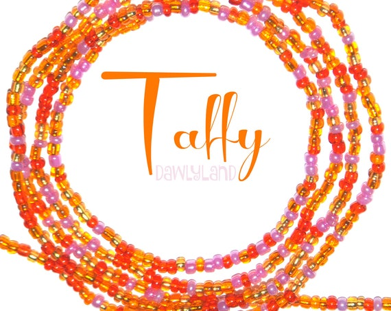 Taffy ~ Custom Fit Waist Beads & Mega Wraps