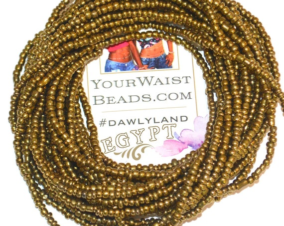 Egypt ~ Gold Custom Waist Beads & More