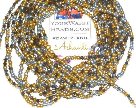 Ashanti ~ Crystal Waist Beads & More