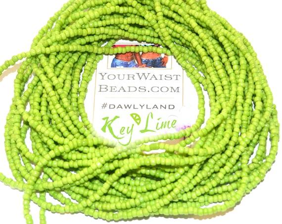 Waist Beads & More ~ Key Lime ~ Anklet Bracelet or #Beadkini