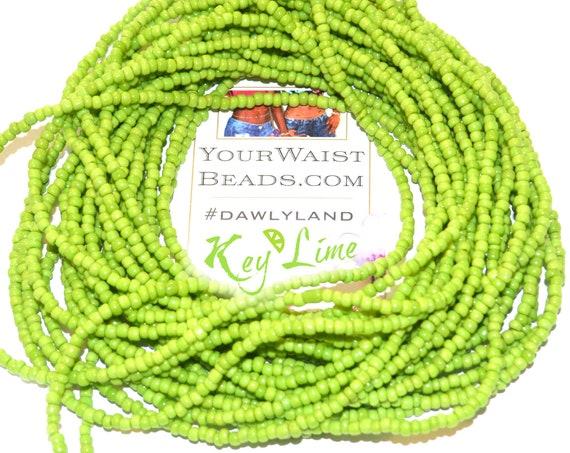 Key Lime ~ Green Custom Waist Beads & More