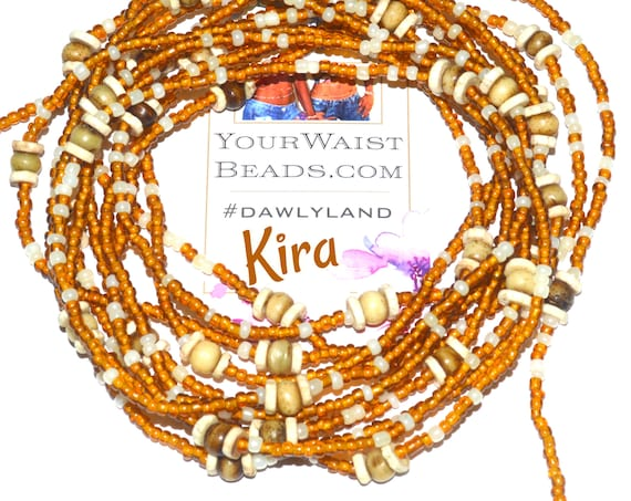 Waist Beads & More ~ Kira ~ Bracelet or Anklet with Vintage West African Beads
