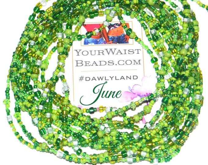 June ~ Green Waist Beads & More