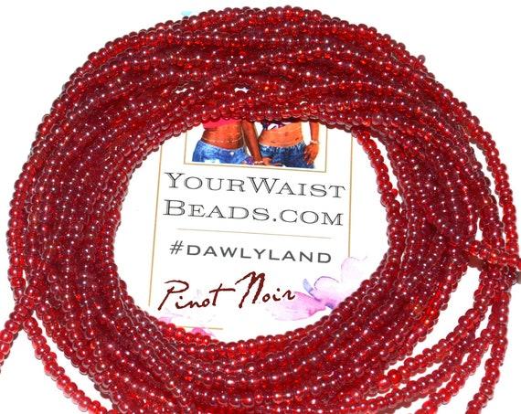 Waist Beads & More ~ Pinot Noir ~ Bracelet Anklet or #Beadkini