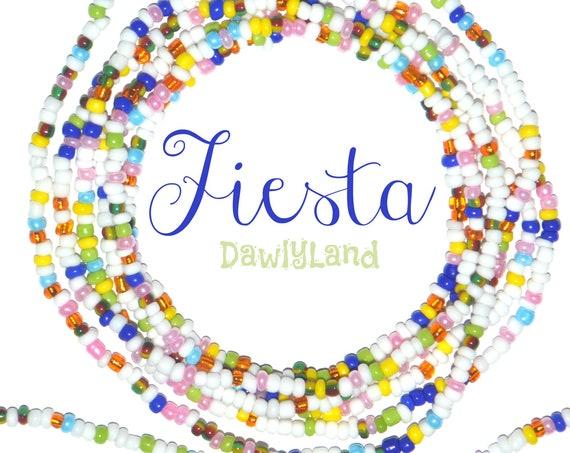 Fiesta ~ Custom Fit Waist Beads & Mega Wraps
