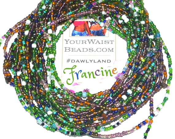 Francine ~ Gemstone Waist Beads & More ~ featuring Tigers Eye