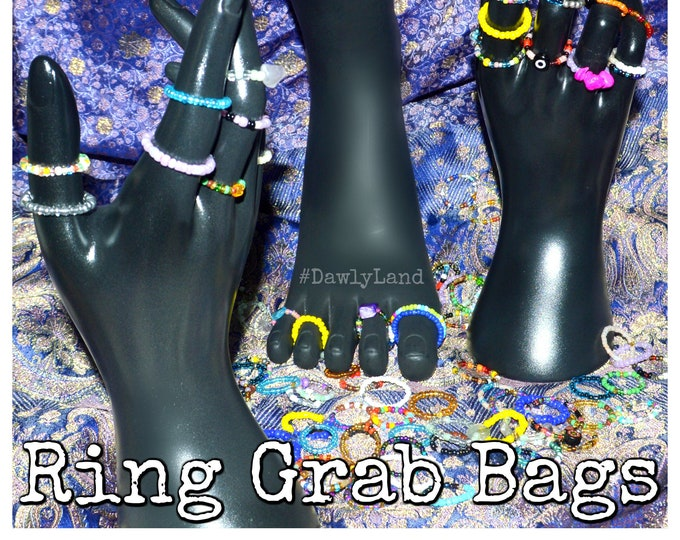 Stackable Ring GrabBag - Mixed Finger & Toe Rings