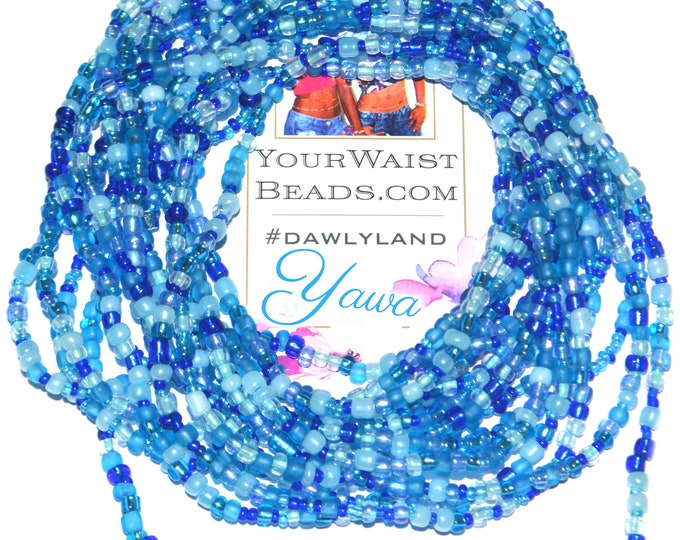 Yawa ~ Blue Waist Beads & More
