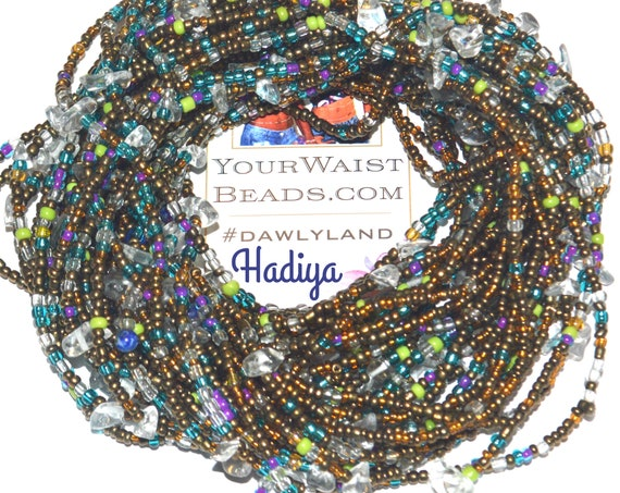 Hadiya ~ Custom Waist Beads & More with Clear Quartz