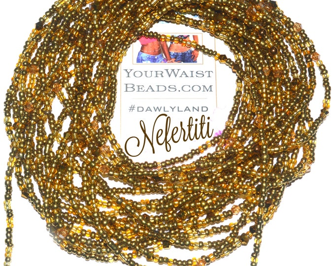 Nefertiti ~ Golden Crystal Waist Beads & More