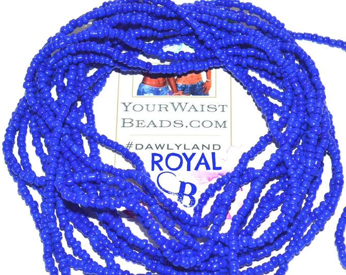 Royal Blue ~ Custom Waist Beads & More
