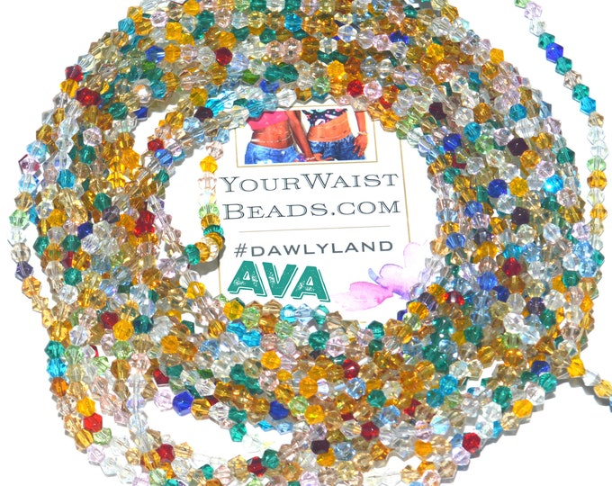 Ava ~ Crystal Waist Beads & More