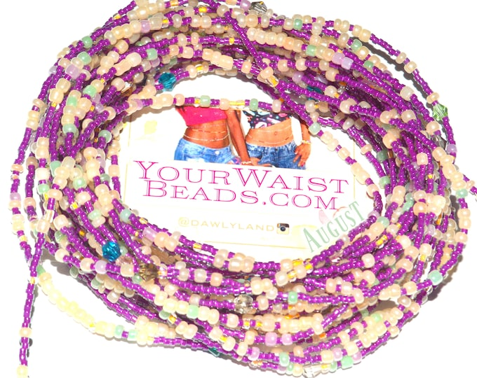 Waist Beads & More ~ August ~ YourWaistBeads.com