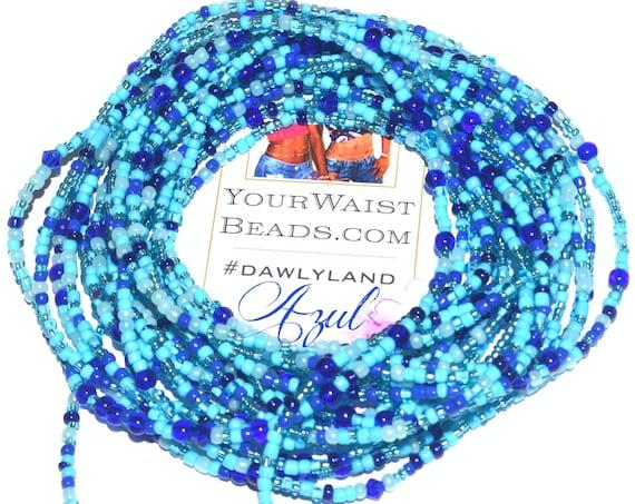 Blue Waist Beads & More ~ Azul ~ Anklet Bracelet or Beadkini