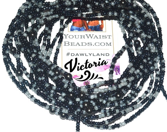Waist Beads & More ~ Victoria ~ Bracelet Anklet or #Beadkini with Healing Gemstones