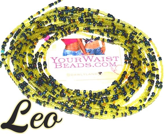 Waist Beads & More ~ Leo ~LOW STOCK YourWaistBeads.com