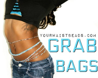 Clearance WaistBeads GrabBags • END OF STOCK