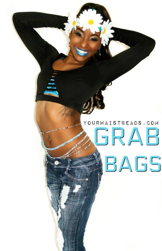 Waist Beads GRAB BAGS YourWaistBeads.com~ buy 4 get 1 free!!