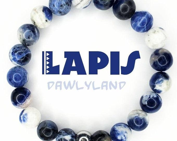 Lapis Lazuli • Premium Gemstone Bracelet