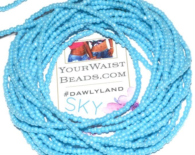 Sky Blue ~ Custom Waist Beads & More