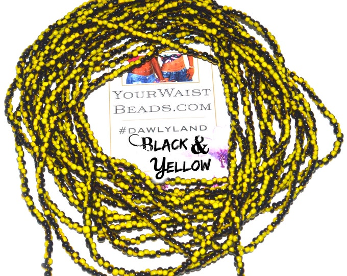 Black & Yellow Waist Beads and More