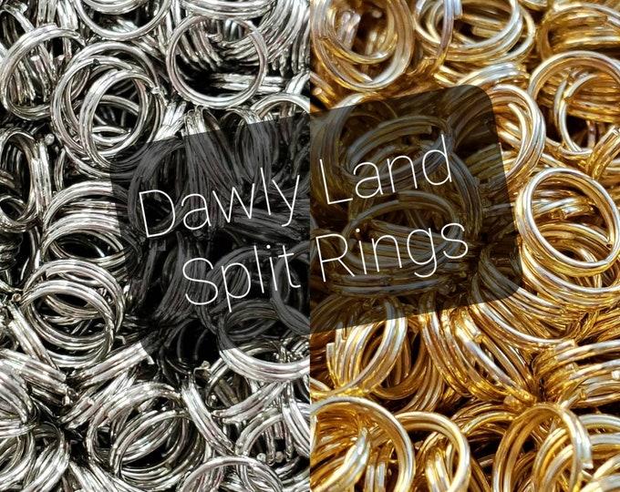 Split Rings • Wholesale Double Jump Rings