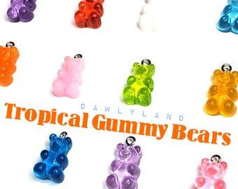 Tropical Gummy Bear Charms