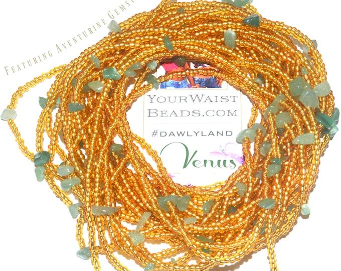 Venus ~ Gemstone Waist Beads & More ~ with Aventurine
