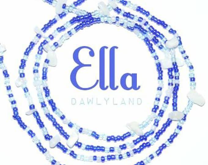 Ella • Premium Waist Beads • with Moonstone