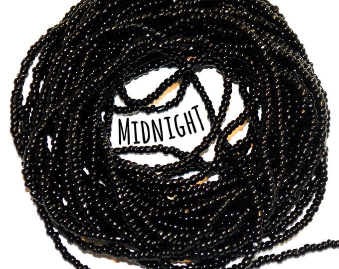 Midnight ~ Black Custom Waist Beads & More